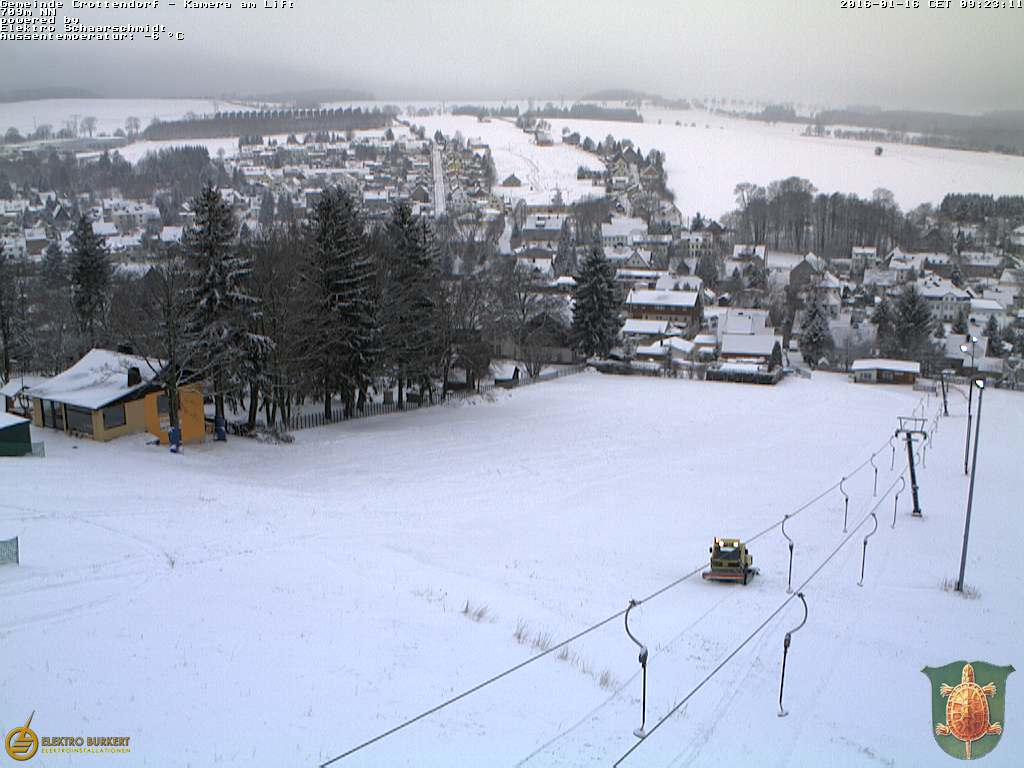 Webcam am Skilift Crottendorf